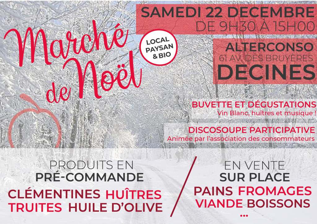 Marché de Noël AlterConso